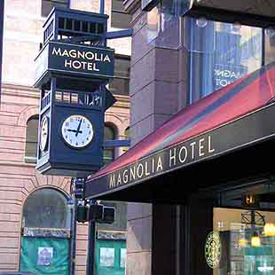 View of the Magnolia Hotel of Denver